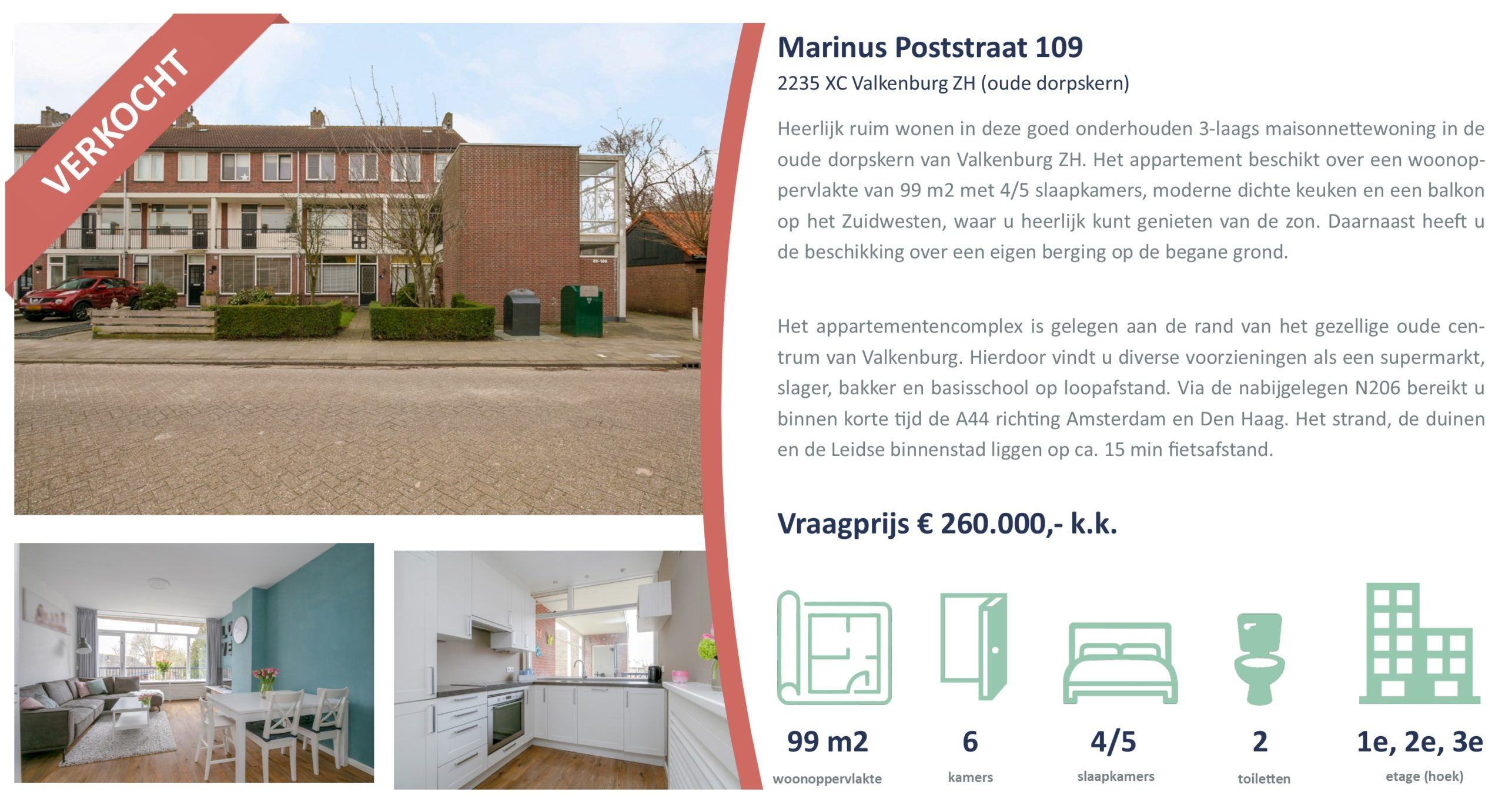 Marinus Poststraat 109, Valkenburg, Verkocht