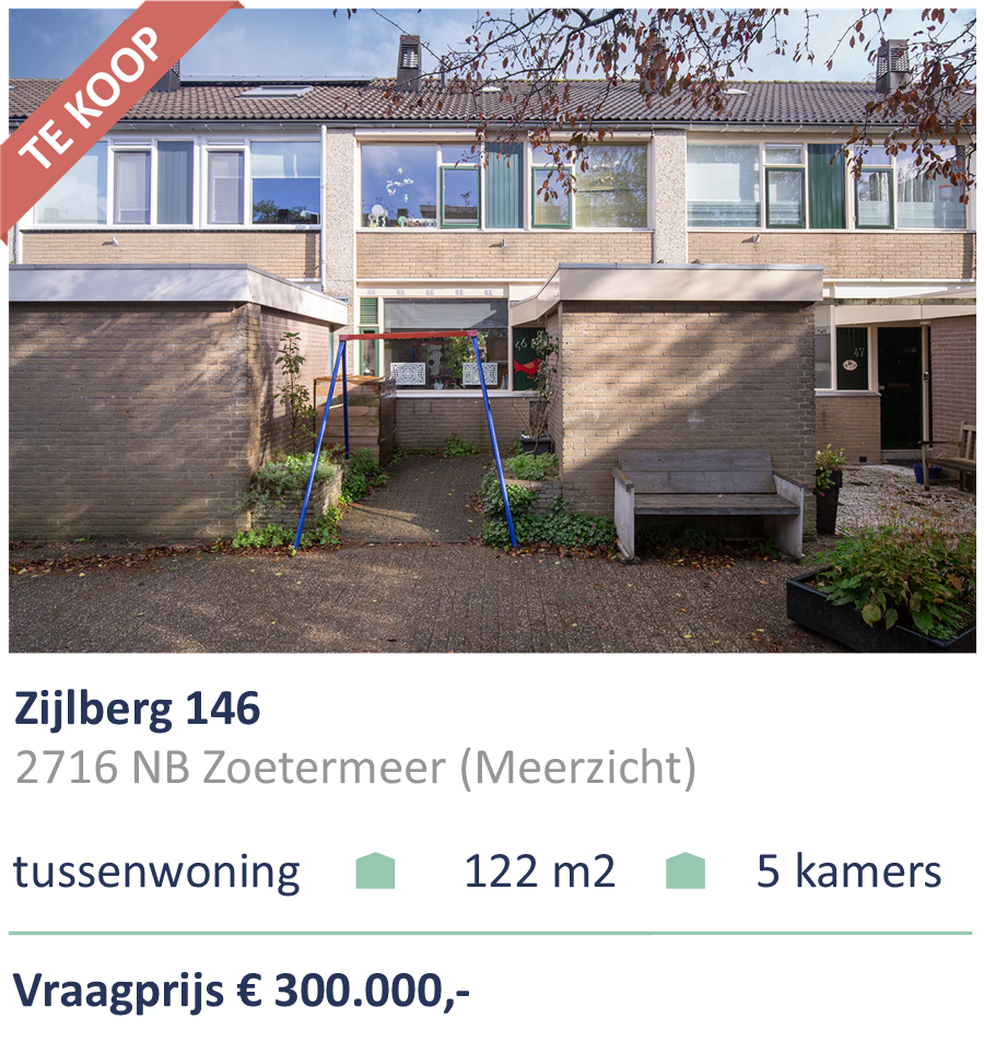 Te koop Zijlberg 46 Zoetermeer
